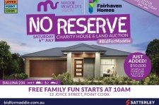 Fairhaven Homes No reserve charity house and land auction