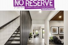 No reserve charity house and land auction partners list